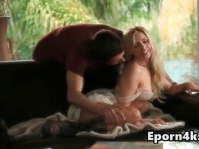 HD 4K Cute young blonde love licked