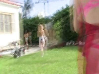 Teen girls hazed by sorority lesbians