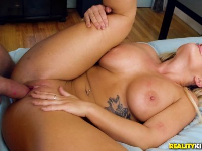 Seduction is Cali's best friend when it comes to her daddy's huge cock