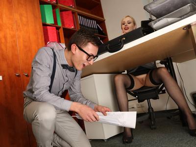 Seduced by my horny boss