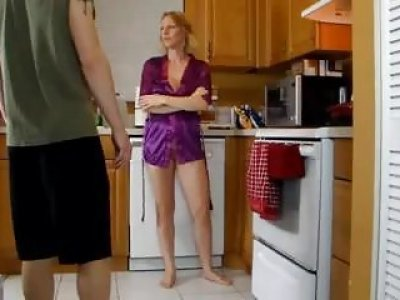 Seductive mom got what she deserved from a young stallion