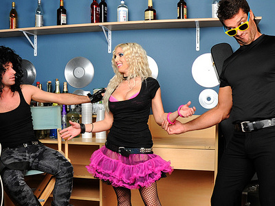 Dewey Cocks part 2: Backstage Booty