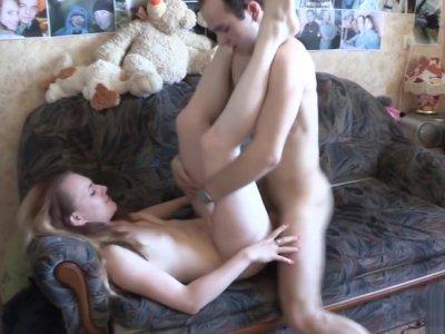 18 Videoz - Sveta - Teeny loves the taste of cum