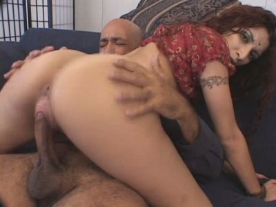 Curvy exotic milf Adara has nice ass for doggy style pounding
