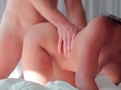 POV gorgeous latina getting cunt fucked hard